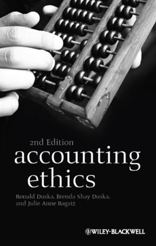 Accounting Ethics  2nd 2011 edition cover