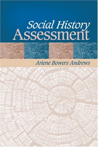 Social History Assessment   2007 edition cover