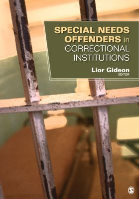 Special Needs Offenders in Correctional Institutions   2013 edition cover