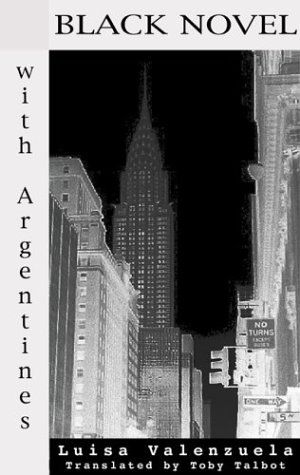 Black Novel with Argentines   2002 edition cover