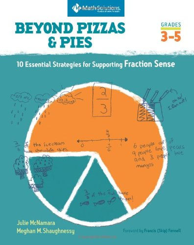 Beyond Pizzas and Pies 10 Essential Strategies for Supporting Fraction Sense  2010 edition cover