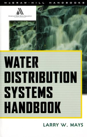 Water Distribution System Handbook   2000 edition cover
