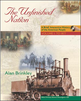 Unfinished Nation A Brief, Interactive History of the American People  2005 edition cover