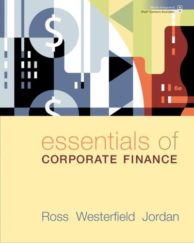 Essentials of Corporate Finance  6th 2008 edition cover