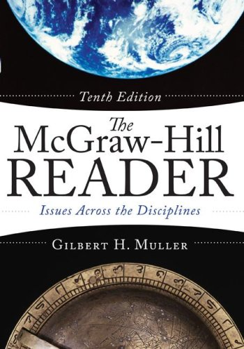 McGraw-Hill Reader Issues Across the Disciplines 10th 2008 edition cover