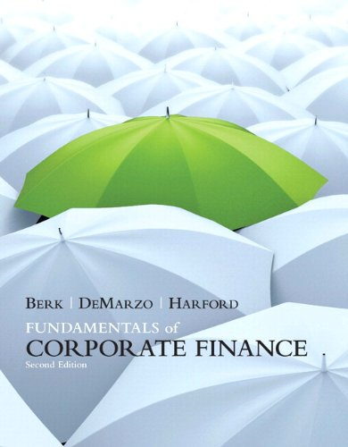 Fundamentals of Corporate Finance plus MyFinanceLab with Pearson eText Student Access Code Card Package  2nd 2012 (Revised) 9780132735131 Front Cover