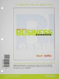 Business Essentials, Student Value Edition, Plus 2014 MyBizLab with Pearson EText -- Access Card Package  10th 2015 edition cover