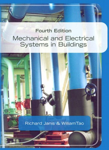 Mechanical and Electrical Systems in Buildings  4th 2009 edition cover