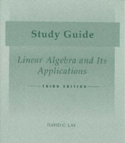 LINEAR ALGEBRA+ITS APPLICATION 3rd 2003 edition cover