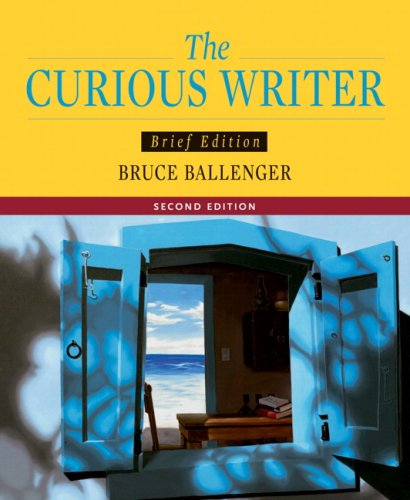 Curious Writer  2nd 2008 (Revised) 9780205532131 Front Cover