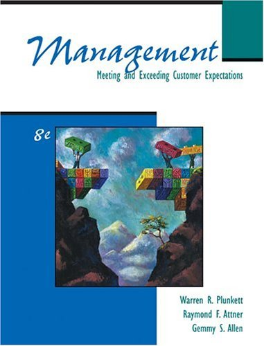Management Meeting and Exceeding Customer Expectations 8th 2005 edition cover