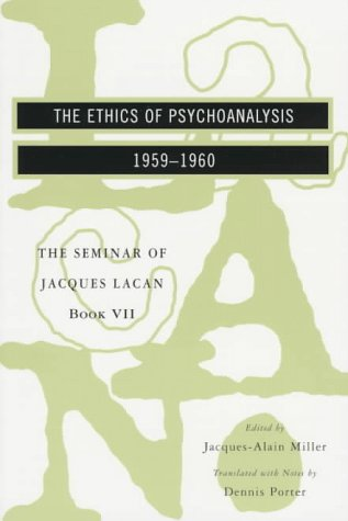 Ethics of Psychoanalysis, 1959-1960  N/A edition cover