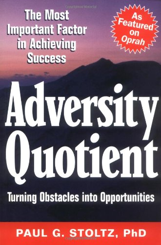 Adversity Quotient Turning Obstacles into Opportunities  1997 edition cover