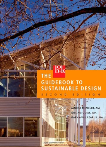 HOK Guidebook to Sustainable Design  2nd 2006 (Revised) edition cover