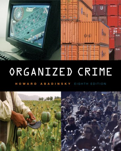 Organized Crime  8th 2007 9780495092131 Front Cover