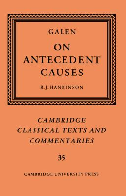 On Antecedent Causes  N/A 9780521607131 Front Cover
