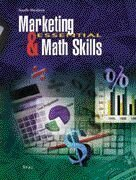 Marketing and Essential Math Skills  4th 1999 (Teachers Edition, Instructors Manual, etc.) 9780538681131 Front Cover