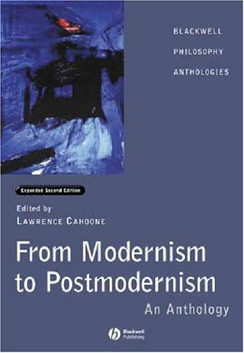 From Modernism to Postmodernism An Anthology Expanded 2nd 2003 (Revised) edition cover