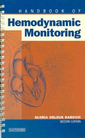 Handbook of Hemodynamic Monitoring  2nd 2004 (Revised) edition cover