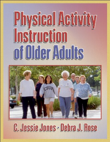 Physical Activity Instruction of Older Adults   2005 edition cover