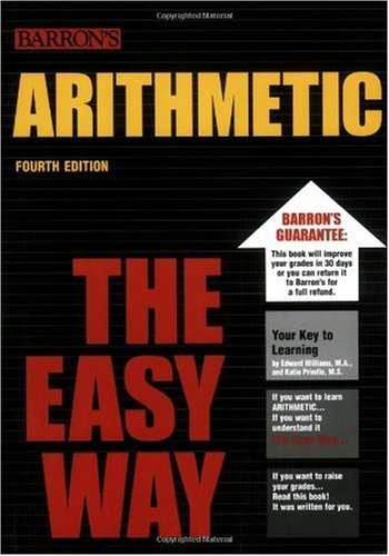 Arithmetic the Easy Way  4th 2006 edition cover