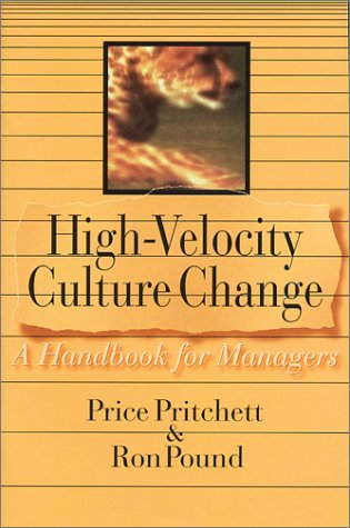 High-Velocity Culture Change : A Handbook for Managers 1st edition cover