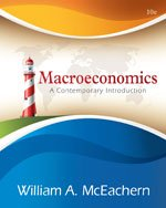 Macroeconomics A Contemporary Approach 10th 2014 9781133188131 Front Cover