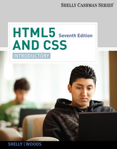 HTML5 and CSS Introductory 7th 2013 edition cover