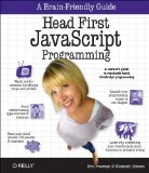 Head First JavaScript Programming   2014 edition cover