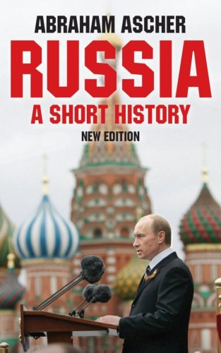Russia A Short History 2nd 2009 (Revised) edition cover