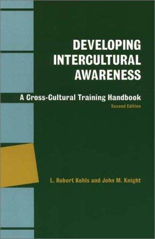 Developing Intercultural Awareness A Cross-Cultural Training Handbook 2nd 1994 edition cover