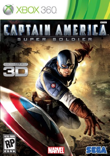 Captain America: Super Soldier - Xbox 360 Xbox 360 artwork
