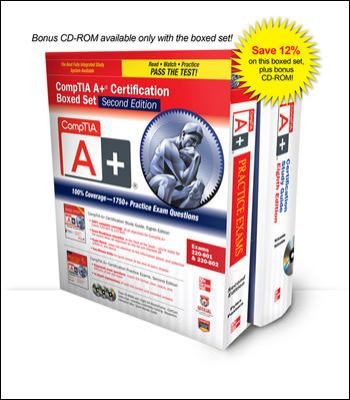 CompTIA A+ Certification (Exams 220-801 and 220-802)  2nd 2013 edition cover