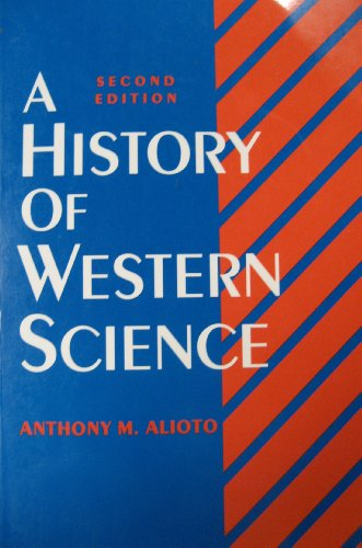 History of Western Science  2nd 1993 edition cover