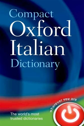 Compact Oxford Italian Dictionary   2013 edition cover