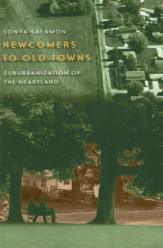 Newcomers to Old Towns Suburbanization of the Heartland N/A edition cover