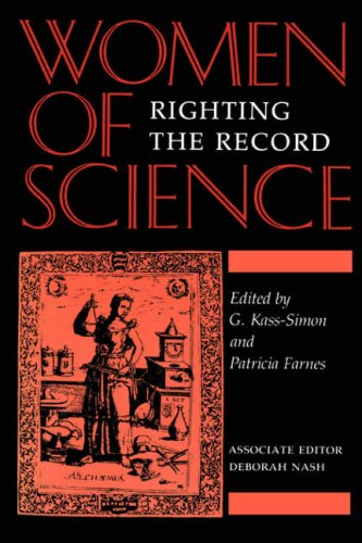 Women of Science Righting the Record  1990 9780253208132 Front Cover