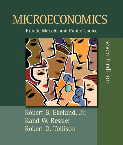 Microeconomics Private Markets and Public Choice 7th 2006 (Revised) edition cover