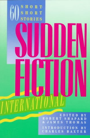 Sudden Fiction International   1989 edition cover