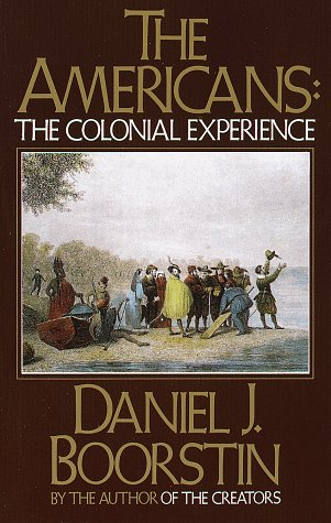 Americans The Colonial Experience  1958 edition cover