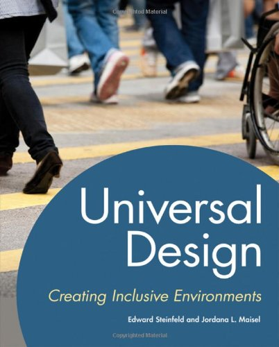 Universal Design Creating Inclusive Environments  2011 edition cover