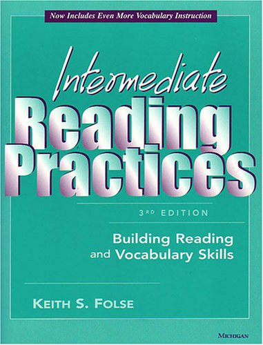 Intermediate Reading Practices Building Reading and Vocabulary Skills 3rd 2004 edition cover