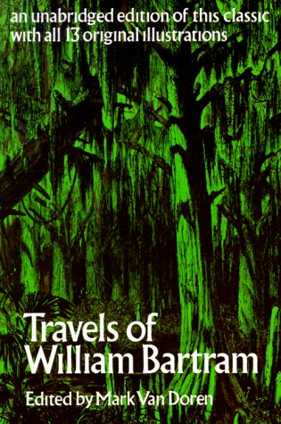 Travels of William Bartram  N/A edition cover
