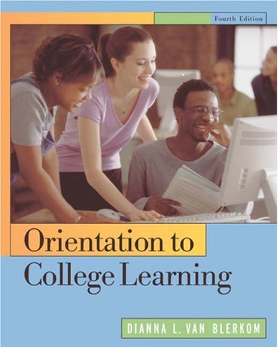 Orientation to College Learning  4th 2004 9780534608132 Front Cover