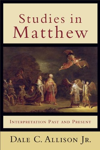 Studies in Matthew Interpretation Past and Present N/A edition cover