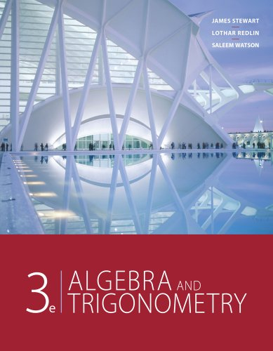 Algebra and Trigonometry  3rd 2012 9780840068132 Front Cover