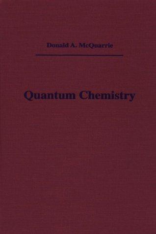Quantum Chemistry   1983 edition cover