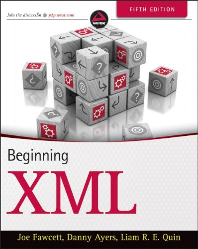 Beginning XML  5th 2012 edition cover
