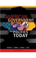 American Government and Politics Today, 2013-2014 Edition  16th 2014 edition cover