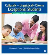 Culturally and Linguistically Diverse Exceptional Students Strategies for Teaching and Assessment  2010 edition cover